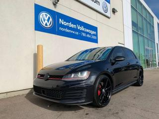 Used 2016 Volkswagen Golf GTI PERFORMANCE + LEATHER PKG - 6SPD M/T for sale in Edmonton, AB