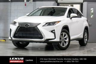 Used 2019 Lexus RX 350 PREMIUM AWD; CUIR TOIT CAMERA ANGLES MORTS LSS+ MONITOR ANGLES MORTS - VOLANT CHAUFFANT - SIÈGES CHAUFFANT 2EME RANGÉE - PRÉ-COLLISION for sale in Lachine, QC