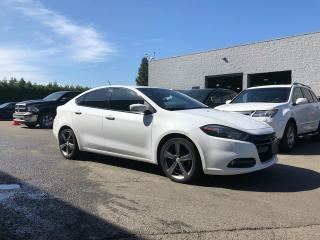 Used 2015 Dodge Dart GT + LEATHER HEATED FT SEATS + NAV + NO EXTRA DEALER FEES for sale in Surrey, BC