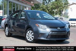 Used 2016 Toyota Corolla Le Pkg for sale in Pointe-Claire, QC
