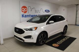 Used 2019 Ford Edge 3 MONTH DEFERRAL! *oac | ST Performance, Leather, NAV | Sunroof | LOW KM for sale in Edmonton, AB