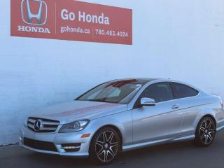 Used 2013 Mercedes-Benz C-Class C350 AWD COUPE for sale in Edmonton, AB