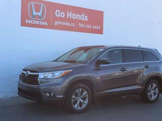 Used 2014 Toyota Highlander LE AWD for sale in Edmonton, AB