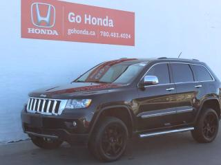 Used 2012 Jeep Grand Cherokee Overland 4WD for sale in Edmonton, AB
