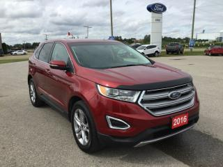 Used 2016 Ford Edge Titanium | AWD | Accident Free | Rear Spoiler for sale in Harriston, ON