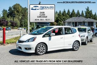 Used 2013 Honda Fit Sport, HFP Wheels, i-VTEC, Accessories, Clean! for sale in Surrey, BC
