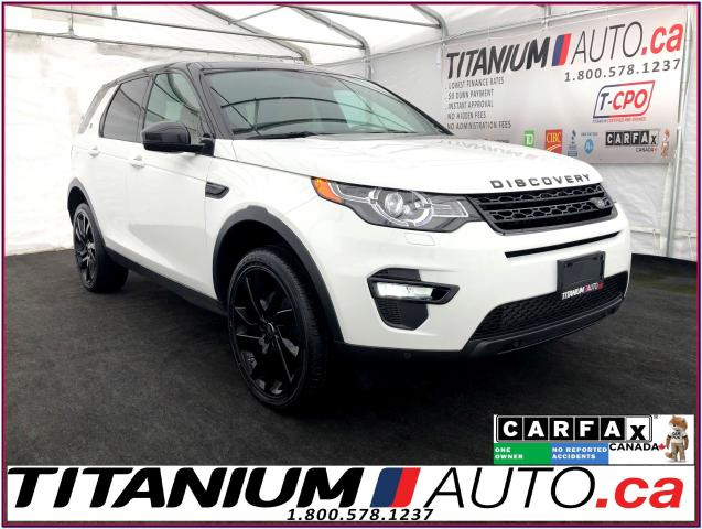 2016 Land Rover Discovery Sport HSE LUXURY+Blind Spot+GPS+Camera+7 Passengers+