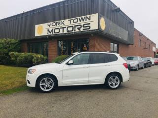 Used 2014 BMW X3 AWD/M-Sport/Nav/SunRf/RCam/RedInt for sale in North York, ON