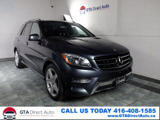 Used 2015 Mercedes-Benz M-Class ML 350 BlueTEC AWD Nav Pano Cam AMG HK Certified for sale in Toronto, ON