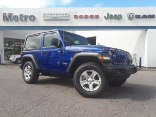 Used 2020 Jeep Wrangler Sport S for sale in Ottawa, ON