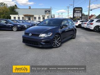 Used 2018 Volkswagen Golf R 2.0 TSI DRIVER'S ASSISTANCE PKG  NAVI  ADAPTIVE CR for sale in Ottawa, ON
