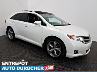 Used 2014 Toyota Venza AWD - TOIT OUVRANT - Automatique - A/C - Cuir for sale in Laval, QC