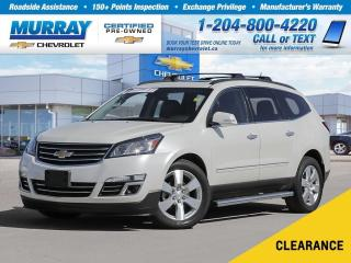Used 2014 Chevrolet Traverse LTZ *Heated Seats, Remote Start, Rear View Camera* for sale in Winnipeg, MB