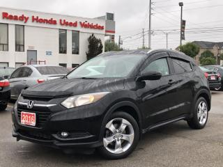 Used 2016 Honda HR-V EX-L  - Leather - Sunroof - Rear Camera for sale in Mississauga, ON