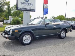 Used 1979 Fiat Spider for sale in Cambridge, ON