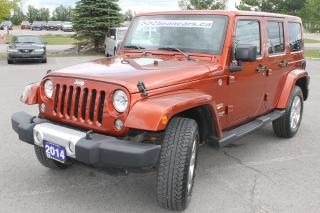 Used 2014 Jeep Wrangler Unlimited Sahara for sale in Carleton Place, ON