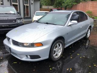 Used 2003 Mitsubishi Galant ES6 for sale in Ancaster, ON