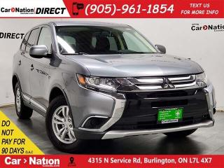 Used 2018 Mitsubishi Outlander ES| 4X4| BACK UP CAM| DUAL CLIMATE CONTROL| for sale in Burlington, ON