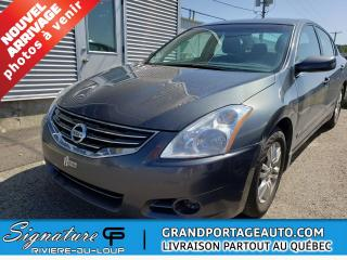 Used 2011 Nissan Altima SPECIAL EDITION* CLEAN* CVT, 2,5 S for sale in Rivière-Du-Loup, QC