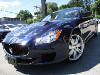 Used 2015 Maserati Quattroporte QUATTROPORTE S Q4 | ONE OWNER | 40KM | NAVI | AWD for sale in Burlington, ON