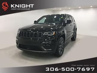Used 2018 Jeep Grand Cherokee High Altitude II V6 | Sunroof | Navigation | DVD for sale in Regina, SK