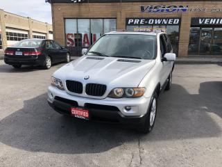 Used 2005 BMW X5 2005 BMW X5 - 4dr AWD 3.0i for sale in North York, ON