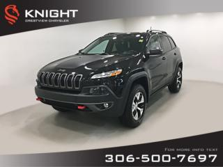 Used 2016 Jeep Cherokee Trailhawk 4x4 V6 | Leather | Navigation | Remote Start for sale in Regina, SK