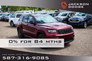 New 2020 Jeep Grand Cherokee Limited X V6 | Leather | Navigation | Sunroof for sale in Medicine Hat, AB