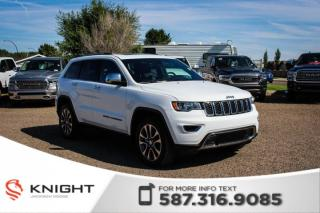 Used 2018 Jeep Grand Cherokee Limited - Sunroof, NAV, Remote Start for sale in Medicine Hat, AB
