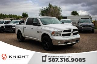 Used 2014 RAM 1500 Outdoorsman - Touchscreen, Bluetooth for sale in Medicine Hat, AB