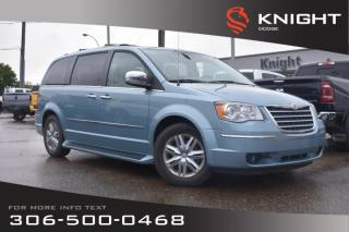 Used 2010 Chrysler Town & Country Limited | Leather | Heated Seats | DVD | 3rd Row Seating for sale in Swift Current, SK