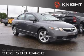 Used 2010 Honda Civic Sdn Sport | Remote Start | Cruise Control for sale in Swift Current, SK