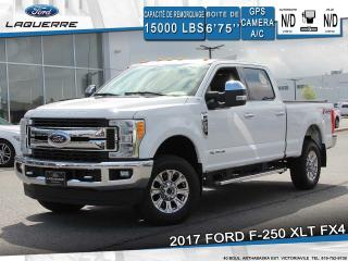 Used 2017 Ford F-250 XLT FX4**GPS*CAMERA*BLUETOOTH*CRUISE*A/C** for sale in Victoriaville, QC