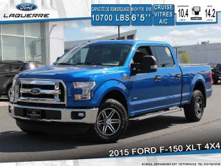 Used 2015 Ford F-150 XLT 4X4** 6 PLACES*CAMERA*BLUETOOTH*CRUISE*A/C** for sale in Victoriaville, QC