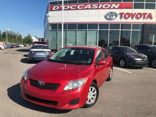 Used 2009 Toyota Corolla **AUTO/AIR/VITRES** 164 594 KM* for sale in St-Eustache, QC