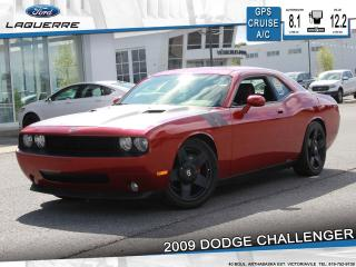 Used 2009 Dodge Challenger SE**GPS*CRUISE*A/C*GR. ELECTRIQUE** for sale in Victoriaville, QC