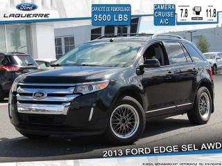 Used 2013 Ford Edge SEL AWD**CAMERA*BLUETOOTH*CRUISE*A/C** for sale in Victoriaville, QC