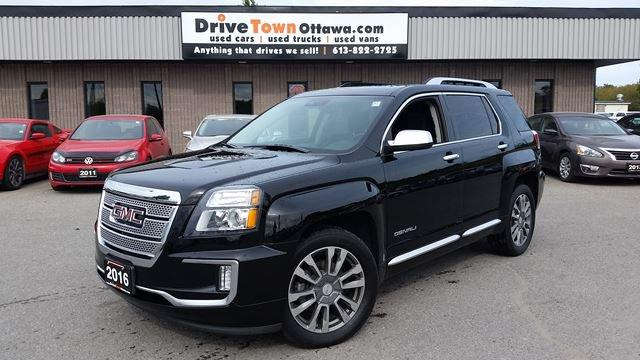 2016 GMC Terrain Denali AWD **NAV**MOONROOF**LEATHER**