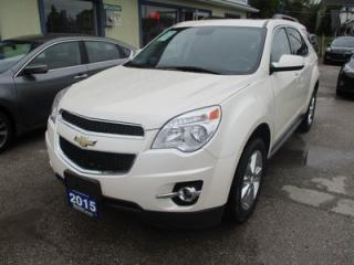 Used 2015 Chevrolet Equinox LOADED 2-LT MODEL 5 PASSENGER 2.4L - ECO-TEC.. NAVIGATION.. LEATHER.. HEATED SEATS.. PIONEER AUDIO.. SUNROOF.. BACK-UP CAMERA.. BLUETOOTH.. for sale in Bradford, ON