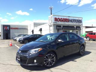 Used 2015 Toyota Corolla S SPORT -6SPD - SUNROOF - REVERSE CAM for sale in Oakville, ON