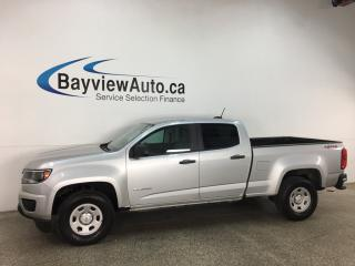 Used 2016 Chevrolet Colorado WT - 4X4! V6! HITCH! ONSTAR! PWR GROUP! for sale in Belleville, ON