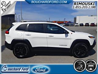 Used 2017 Jeep Cherokee Trailhawk 4X4 TOIT PANORAMIQUE NAVIGATIO for sale in Rimouski, QC