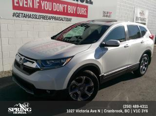 Used 2019 Honda CR-V EX $230 BI-WEEKLY - $0 DOWN for sale in Cranbrook, BC
