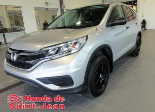 Used 2015 Honda CR-V 2 RM 5 portes LX for sale in St-Jean-Sur-Richelieu, QC