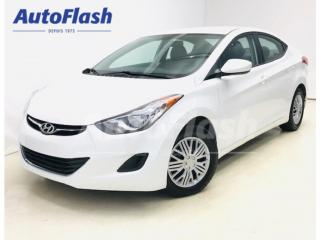 Used 2013 Hyundai Elantra GL *Bluetooth* Sieges-Chauffant/Heat-Seats* for sale in St-Hubert, QC
