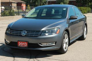 Used 2013 Volkswagen Passat 2.5L Highline ONLY 66K | NO Accidents | NAVI | CERTIFIED for sale in Waterloo, ON