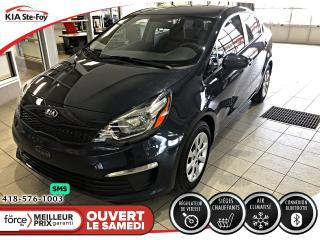 Used 2016 Kia Rio LX+ *CRUISE *BLUETOOTH *A/C for sale in Québec, QC