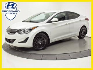 Used 2014 Hyundai Elantra GL, SIÈGES CHAUFFANTS, BLUETOOTH, CRUISE for sale in Brossard, QC