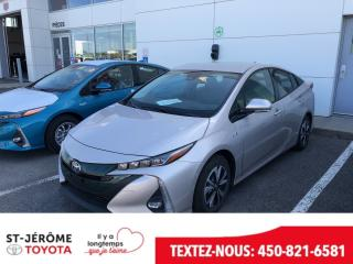 Used 2017 Toyota Prius Prime * TECHNOLOGIE * CUIR * JBL * 27 000 KM * GPS * for sale in Mirabel, QC
