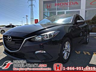 Used 2015 Mazda MAZDA3 Berline 4 portes, boîte manuelle, GX for sale in Sorel-Tracy, QC
